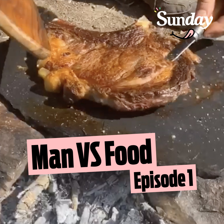 Man vs food